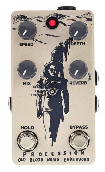 Reverb/delay/echo effektpedal Old blood noise Procession Reverb