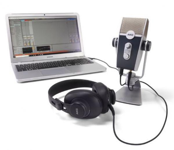 Broadcast & reportage mikrofon Akg Podcaster Essentials Bundle