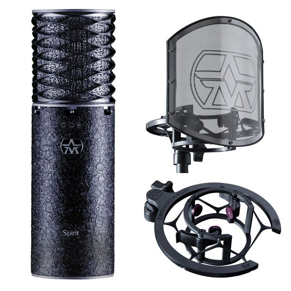 Aston microphones Spirit Black Bundle edition limitée