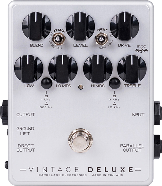 Overdrive/distortion/fuzz effektpedal Darkglass Vintage Deluxe V3 Bass Overdrive