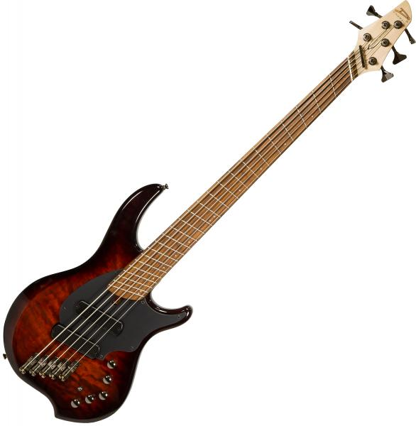 Solidbody e-bass Dingwall Combustion 5 2-Pickups (PF) - Vintage burst
