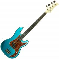 Solidbody e-bass Eastone PRB (PUR) - Metallic light blue
