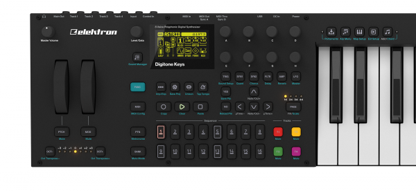 Synthesizer Elektron Digitone Keys