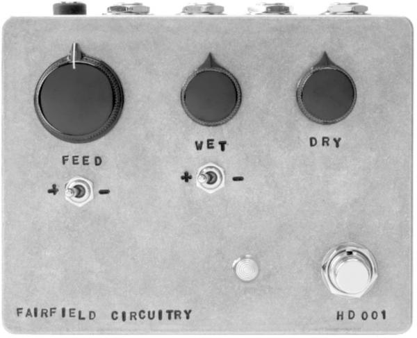 Equalizer & enhancer effektpedal Fairfield circuitry Hors d'Oeuvre? Active Feedback Loop