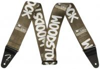 Gitarrengurt Fender 2inch Woodstock Guitar Strap - Black