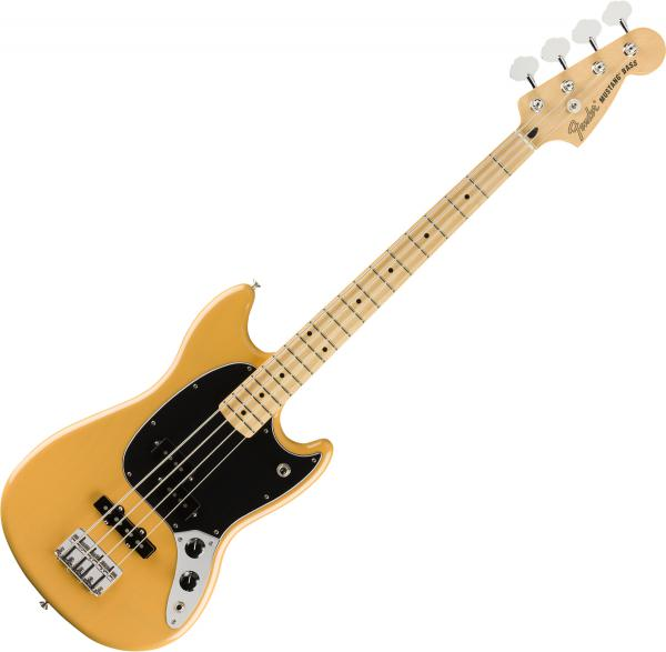 E-bass für kinder Fender Player Mustang Bass PJ Ltd (MEX, MN) - Butterscotch blonde