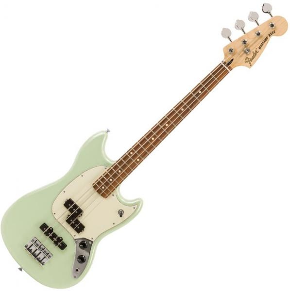 E-bass für kinder Fender Player Mustang Bass PJ Ltd (MEX, PF) - Surf pearl