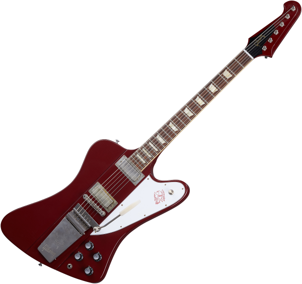 Solidbody e-gitarre Gibson Custom Shop Murphy Lab 1963 Firebird V With Maestro Vibrola - Ultra light aged ember red