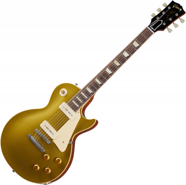 Solidbody e-gitarre Gibson Custom Shop Murphy Lab 1956 Les Paul Goldtop Reissue - Ultra light aged double gold