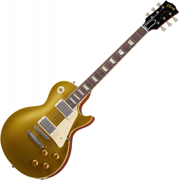 Solidbody e-gitarre Gibson Custom Shop Murphy Lab 1957 Les Paul Goldtop Reissue - Ultra light aged double gold