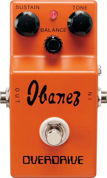 Overdrive/distortion/fuzz effektpedal Ibanez OD850 Classic Overdrive