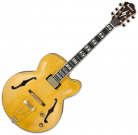 Semi-hollow e-gitarre Ibanez Pat Metheny PM2 AA - Antique amber
