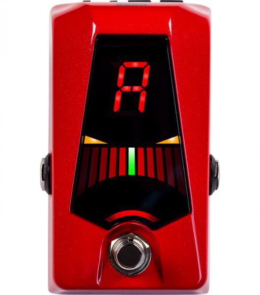 Boden-stimmgerät Korg Pitchblack Advance Pedal Tuner - Red
