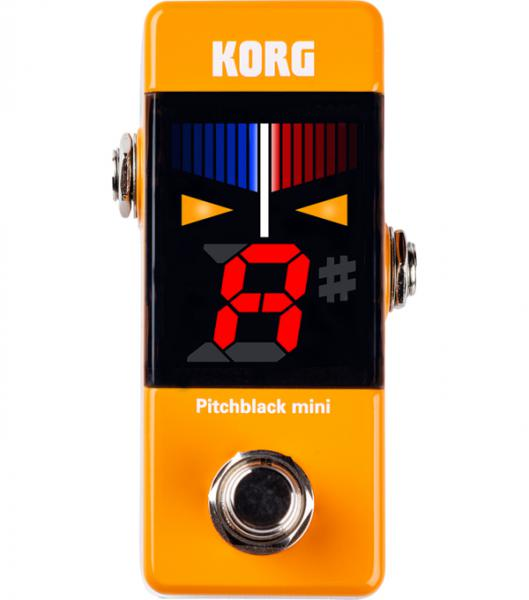 Boden-stimmgerät Korg Pitchblack Mini Pedal Tuner - Orange