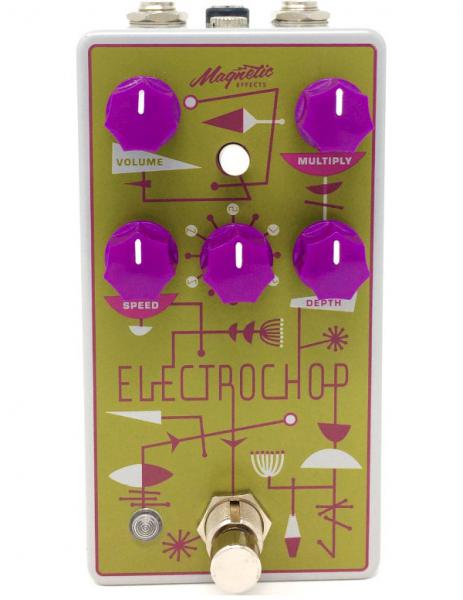 Modulation/chorus/flanger/phaser & tremolo effektpedal Magnetic effects Electrochop Optical Tremolo