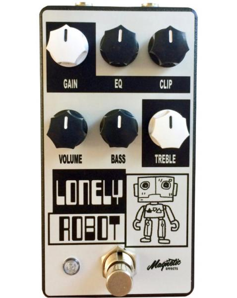 Overdrive/distortion/fuzz effektpedal Magnetic effects Lonely Robot Overdrive/Distortion