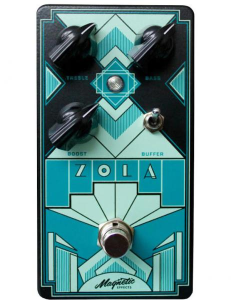 Volume/booster/expression effektpedal Magnetic effect Zola Clean Boost