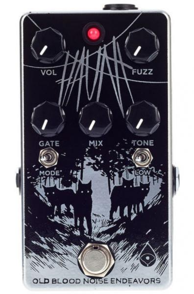 Overdrive/distortion/fuzz effektpedal Old blood noise Haunt Fuzz