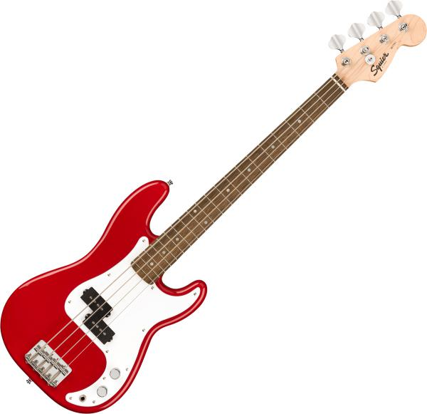 E-bass für kinder Squier Bullet Mini Precision Bass (LAU) - Dakota red
