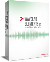 Sequenzer software Steinberg WaveLab Elements 9.5