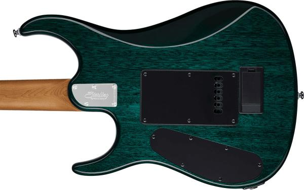 Solidbody e-gitarre Sterling by musicman John Petrucci JP150 - teal