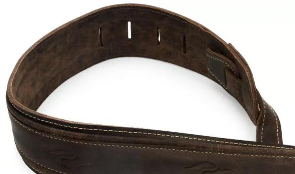 Gitarrengurt Taylor Element Leather Guitar Strap 2.5 inch - Dark Brown