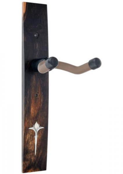 Gitarrenständer Taylor Nouveau Guitar Hanger - Ebony, Acrilyc Inlay - Ebony, No Inlay