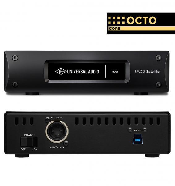 Usb audio interface Universal audio UAD-2 Satellite USB OCTO Core