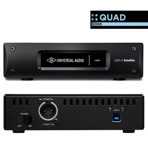 Usb audio interface Universal audio UAD-2 Satellite USB Quad Core