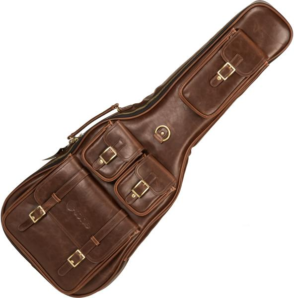 Tasche für e-gitarren  X-tone 2035 Deluxe Leather Electric Guitar Bag - Brown