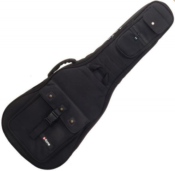 Konzertgitarrentasche X-tone Deluxe Nylon Classical 4/4 Guitar Bag - Black