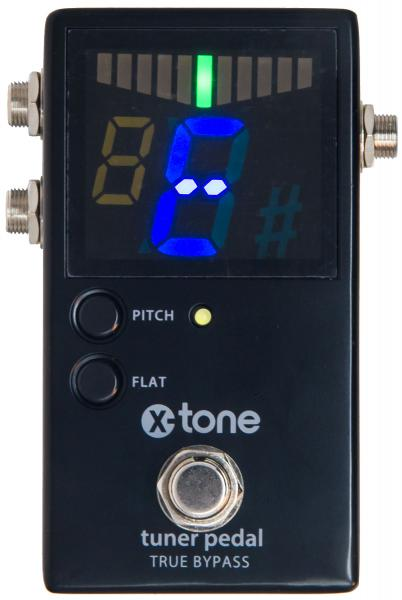 Boden-stimmgerät X-tone Chromatic Pedal Tuner