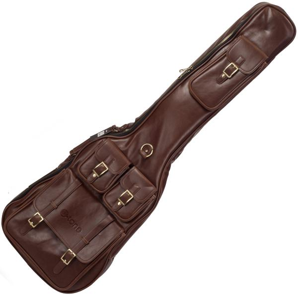Tasche für e-bass X-tone Deluxe Leather Electric Bass Bag - Medium Brown