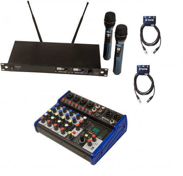 Wireless handmikrofon X-tone Pack Sono 2 Micros