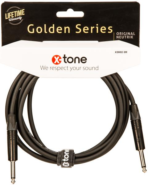 Kabel X-tone X3002-3M Instrument Cable Right/Right 3m