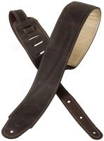 Gitarrengurt X-tone xg 3156 Classic Plus Leather Guitar Strap - Dark Brown